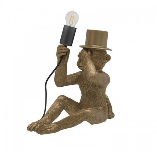 Monkey Hat Lamp Gold