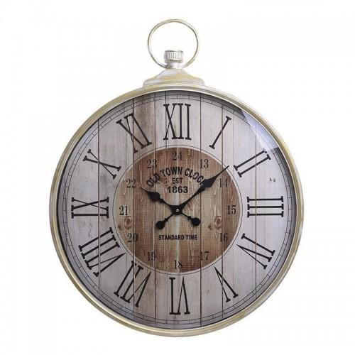 Metallic Vintage Clock