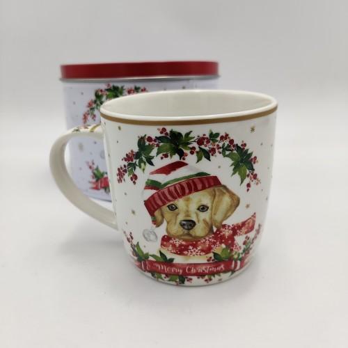 Tazza Christmas Dog 3